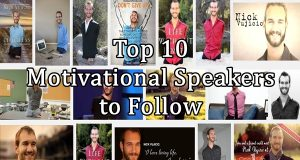 Top 10 Motivational Speakers to Follow list