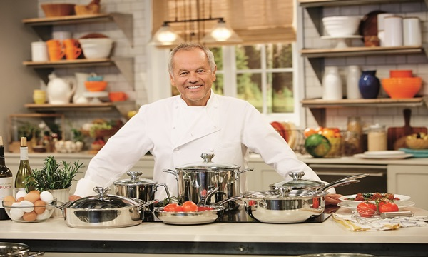Wolfgang Johannes Puck is one of the famous chefs in history