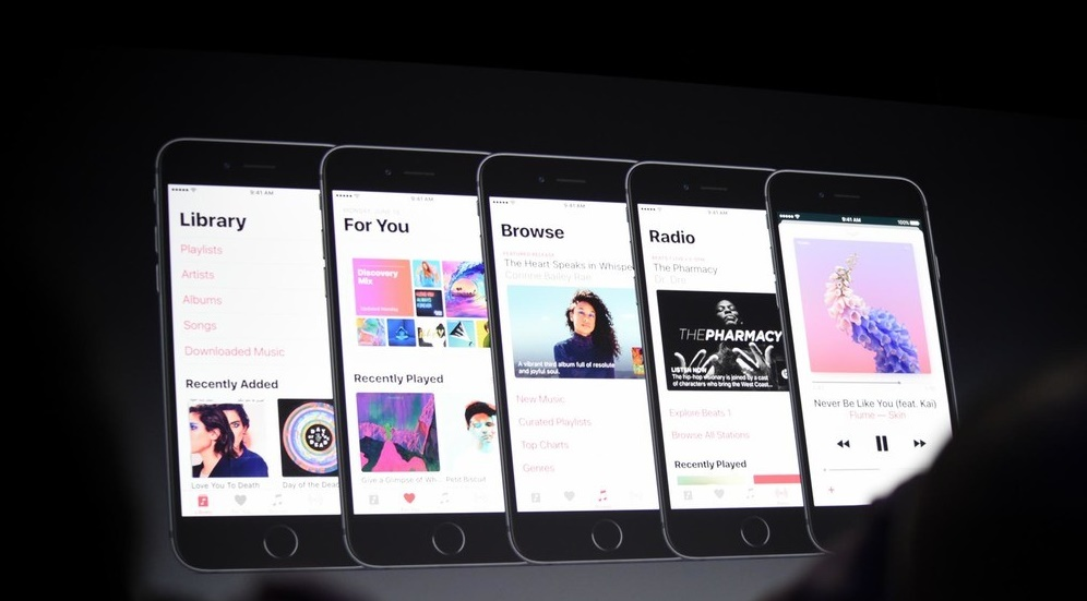 Upgraded apple music interface is among the best iOS 10 features
