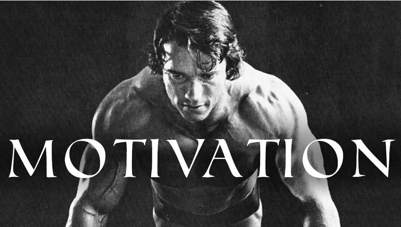 Arnold Schwarzenegger is among the finest motivational speakers