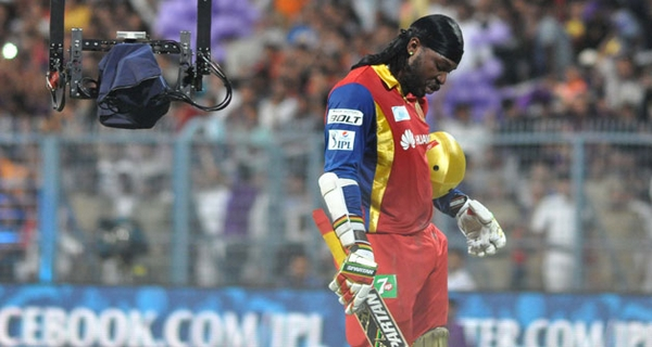 controversy for Chris Gayle in IPL