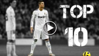 Cristiano Ronaldo Top 10 Craziest Goals [Video]