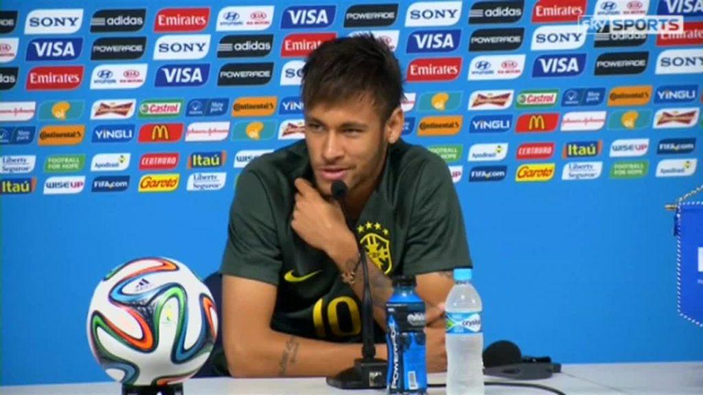 press round on Neymar