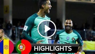 Andorra vs Portugal 0-2 - All Goals & Highlights
