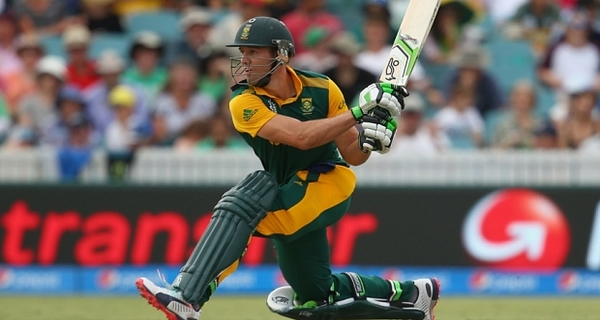 highest batting average AB de Villiers