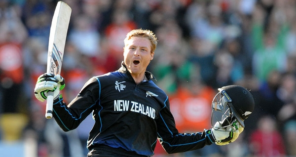 highest batting average Martin Guptill