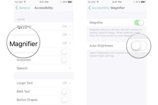Magnifier is one of the best features of iPhone 7