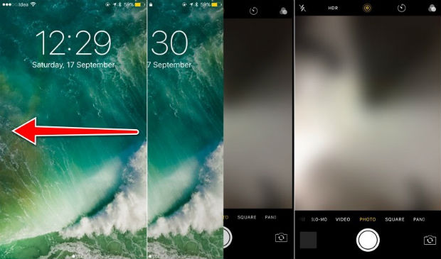 Easily accessible camera is one of the hidden iPhone 7 features