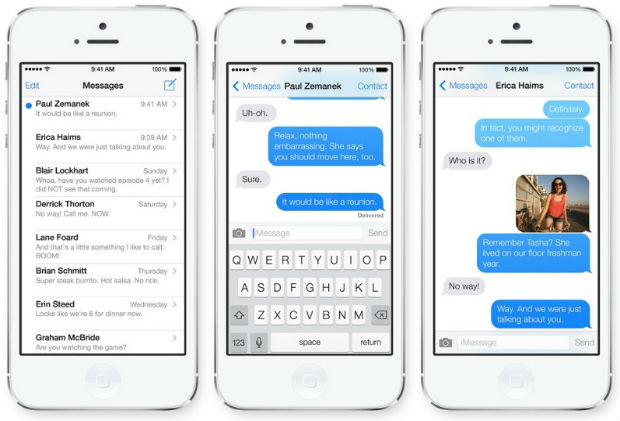Unlock new iMessage in iPhone 7