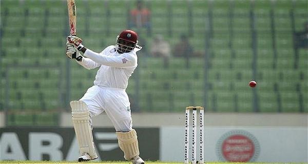 most destructive Test batsmen Chris Gayle
