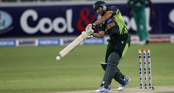 most sixes in single ODI inning Shahid Afridi