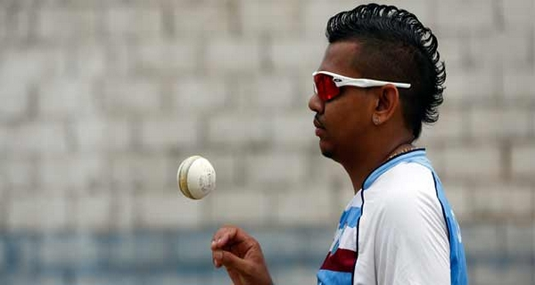 Weirdest hairstyles of Cricketers Sunil Narine