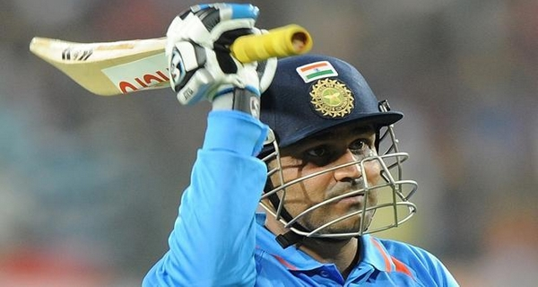 popular cricketers on Facebook Sehwag