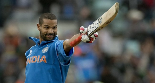 popular cricketers on Facebook Shikhar Dhawan