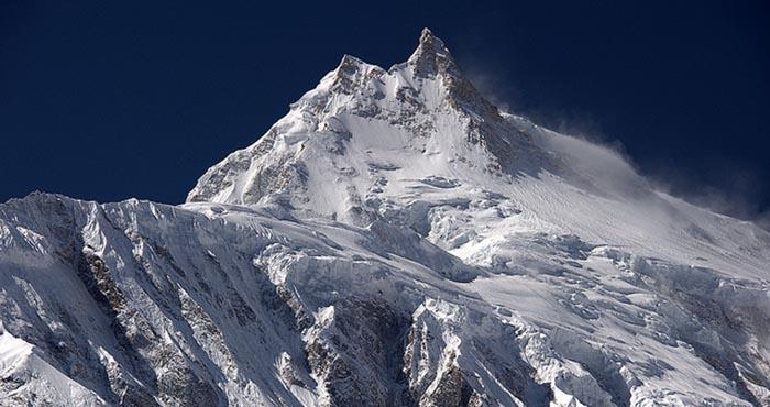 Manaslu summit