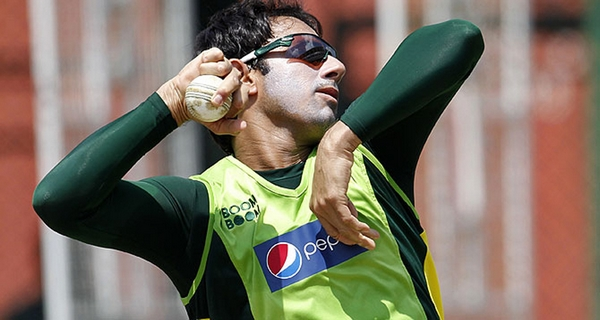 suspected bowling action saeed ajmal