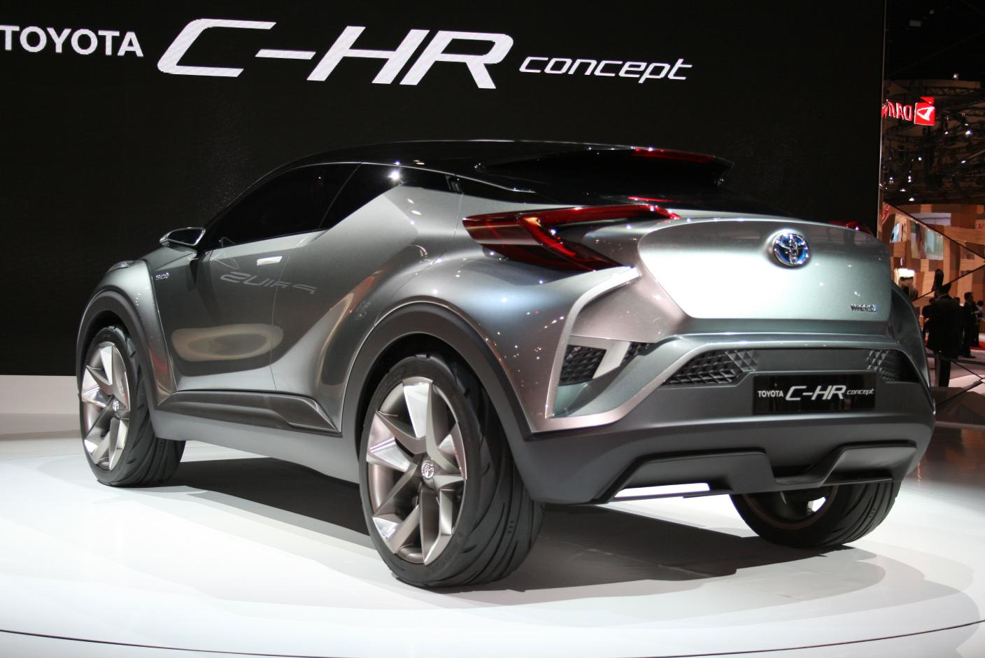 Toyota C-HR is one of the coolest high tech cars 2017